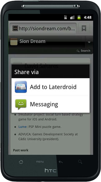 Laterdroid add