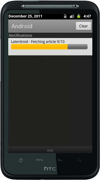 Laterdroid sync