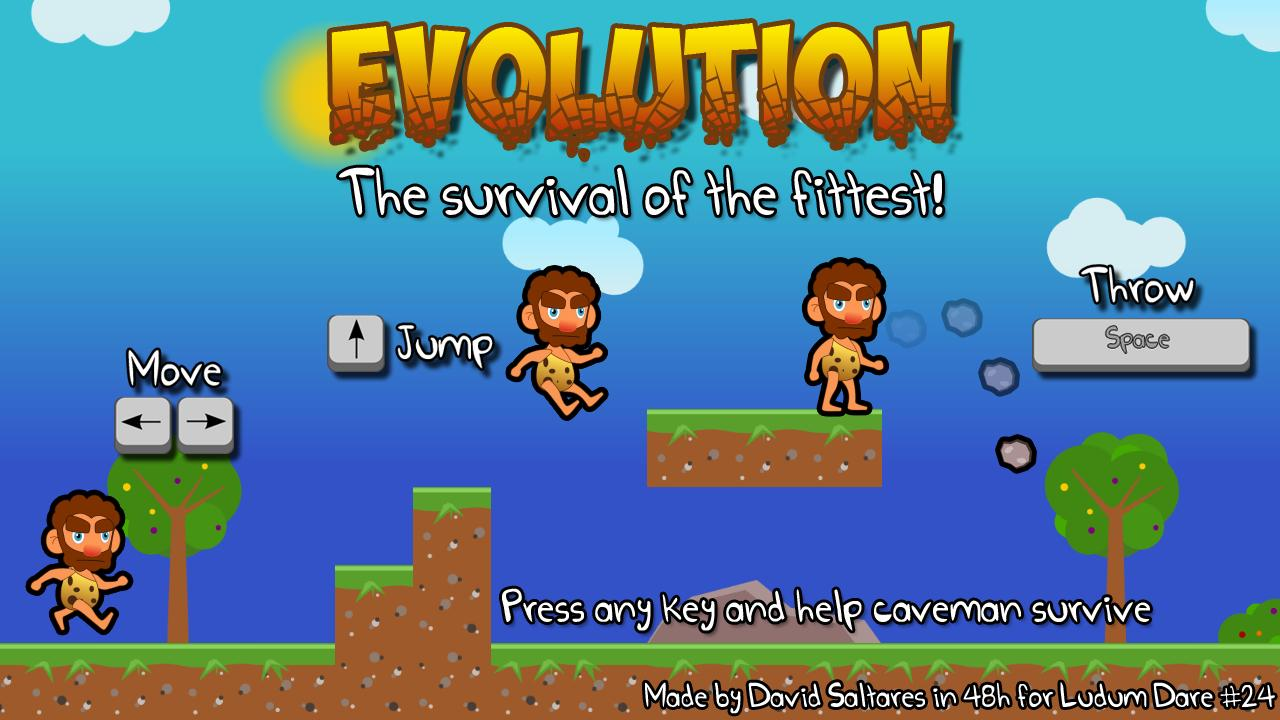 Evolution caveman 01